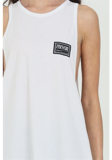 Tank top with front logo VERSACE JEANS COUTURE | T-shirt | B3GWA70011620003