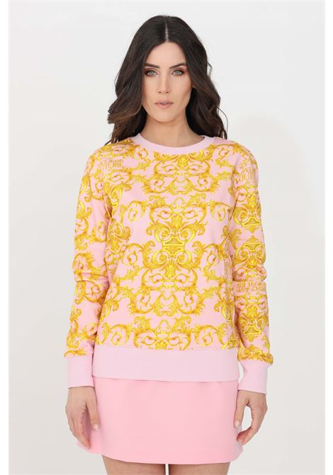 Fantasy crew neck sweatshirt versace jeans couture VERSACE JEANS COUTURE | Sweatshirt | B6HWA795S0156402