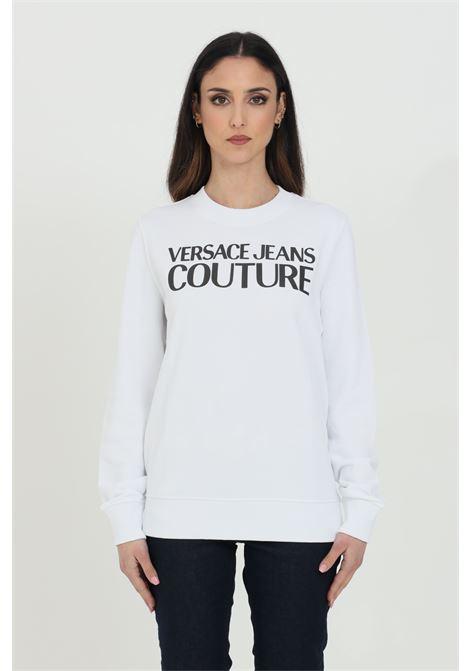 Sweatshirt with plain front logo VERSACE JEANS COUTURE | Sweatshirt | B6HWA7TN30453003