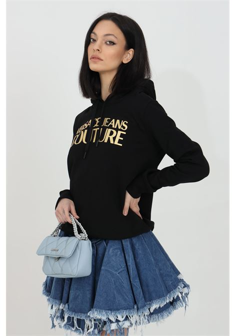 Hoodie with laces VERSACE JEANS COUTURE | Sweatshirt | B6HWA7TP30318K42