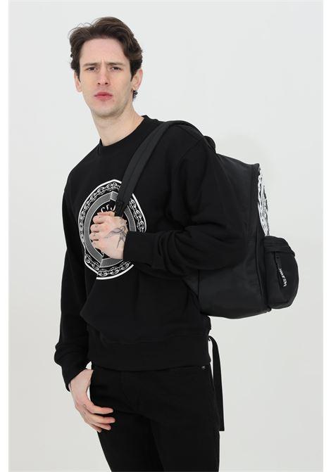 Black sweatshirt with maxi print on the front. Brand: Versace jeans couture VERSACE JEANS COUTURE | Sweatshirt | B7GWA7TT30318899
