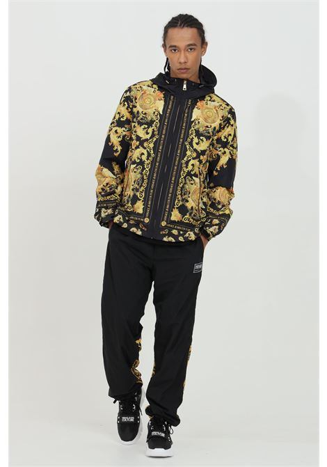 Wind jacket with zip and baroque print VERSACE JEANS COUTURE | Jacket | C1GWA9A825188899