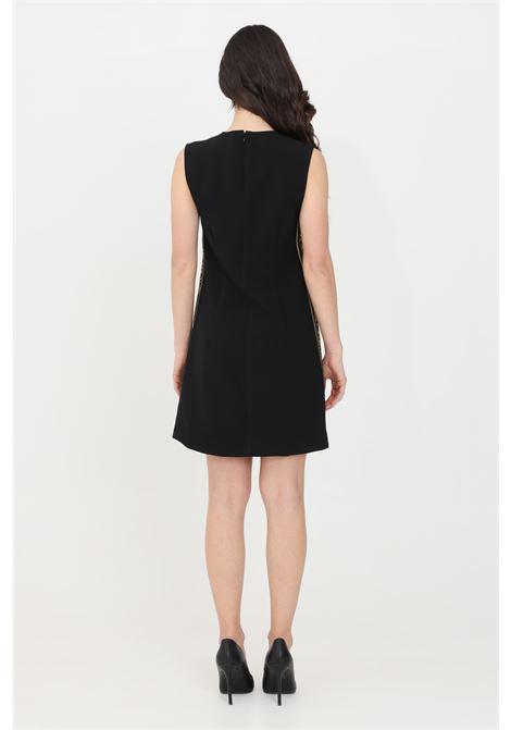 Abito donna nero versace jeans couture corto VERSACE JEANS COUTURE | Abiti | D2HWA40207072899