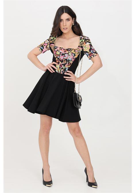 Black short dress versace jeans couture VERSACE JEANS COUTURE | Dress | D2HWA428S0097899