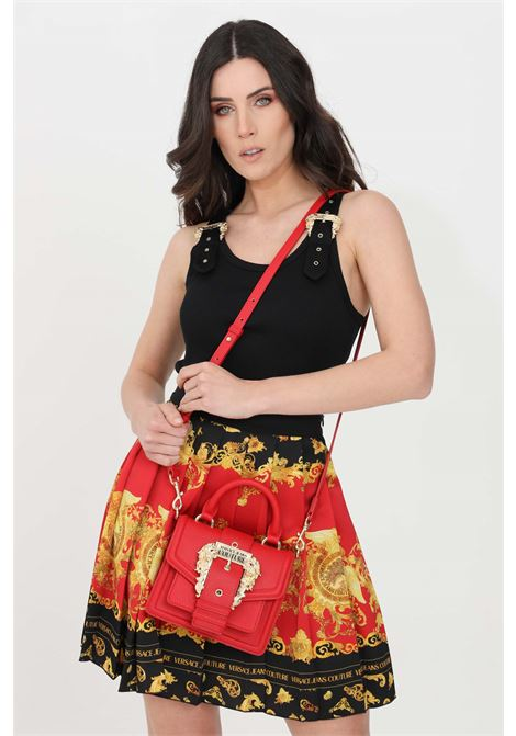 Top donna nero versace jeans couture casual VERSACE JEANS COUTURE | Top | D3HWA65110615899