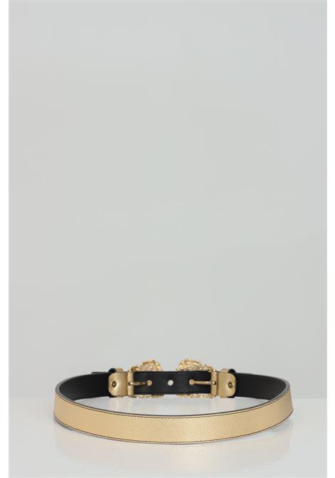 Cintura oro con mini fibbia in oro gold VERSACE JEANS COUTURE | Cinture | D8VWAF1772010901