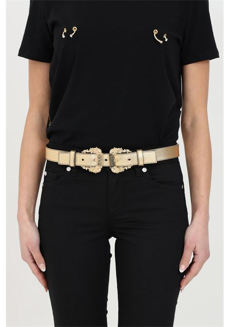 Gold belt with small gold buckles. Brand: Versace jeans couture VERSACE JEANS COUTURE | Belt | D8VWAF1772010901