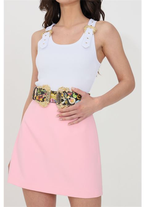 Cintura donna fantasia versace jeans couture con stampa barocca VERSACE JEANS COUTURE | Cinture | D8VWAF1872007M09
