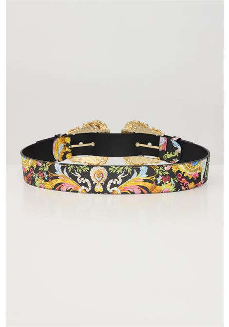 Fantasy belt with baroque print versace jeans couture VERSACE JEANS COUTURE | Belt | D8VWAF1872007M09