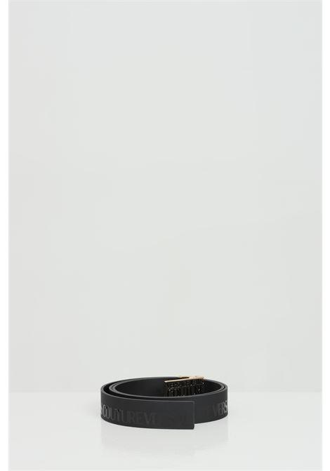 Cintura logata tinta su tinta VERSACE JEANS COUTURE   Cinture   D8YWAF3271989899