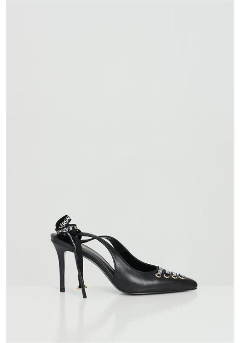 Décolleté donna nere versace jeans couture con lacci alla caviglia VERSACE JEANS COUTURE | Party Shoes | E0VWAS5571977899