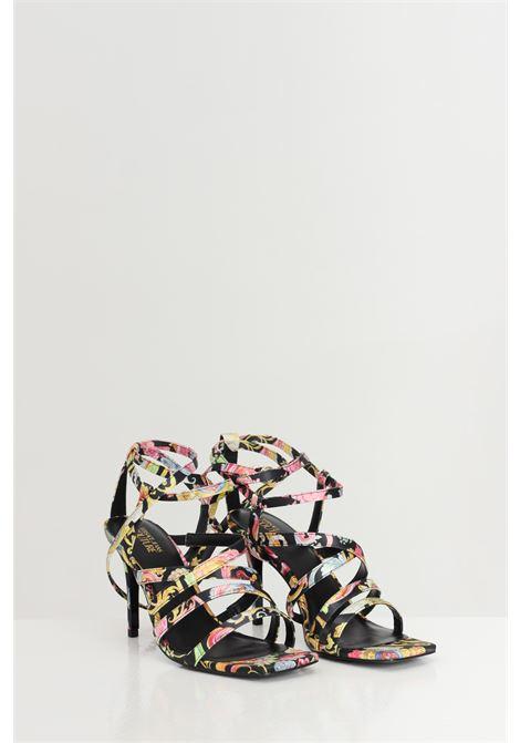 Sandali LINEA FONDO EMILY DIS.16 donna fantasia versace jeans couture VERSACE JEANS COUTURE | Party Shoes | E0VWAS7671981M09