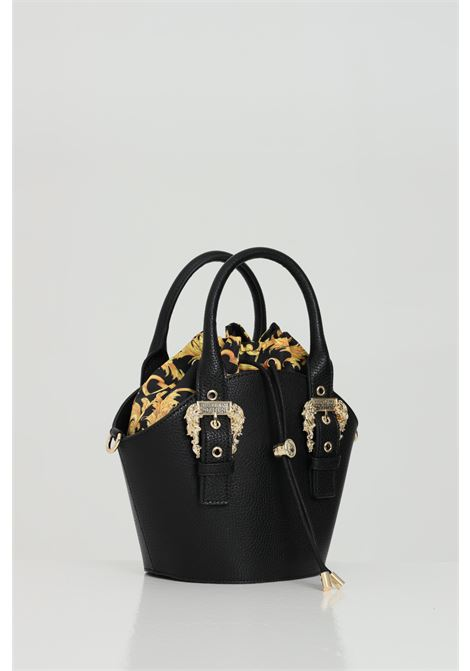 Black bag wiith removable shoulder strap and drawstring closure. Versace jeans couture VERSACE JEANS COUTURE | Bag | E1VWABF471578899