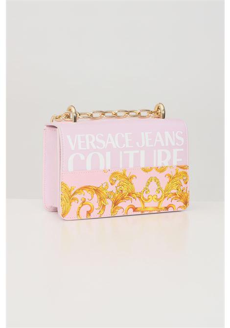 Borsa donna rosa fantasia versace jeance couture con tracolla VERSACE JEANS COUTURE | Borse | E1VWABG371727033
