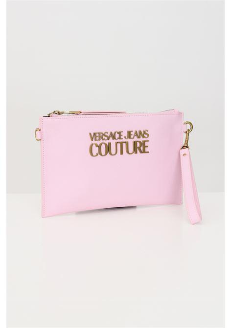 Pink pochette with removable shoulder strap versace jeans couture VERSACE JEANS COUTURE   Bag   E1VWABLX71879426
