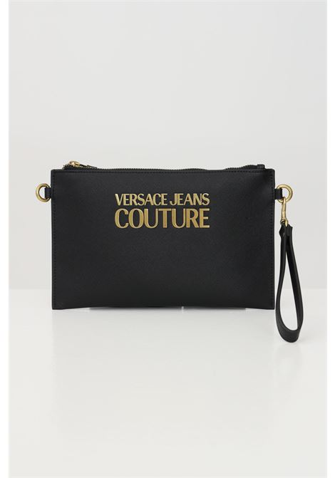 Black pochette with removable shoulder strap versace jeans couture VERSACE JEANS COUTURE   Bag   E1VWABLX71879899
