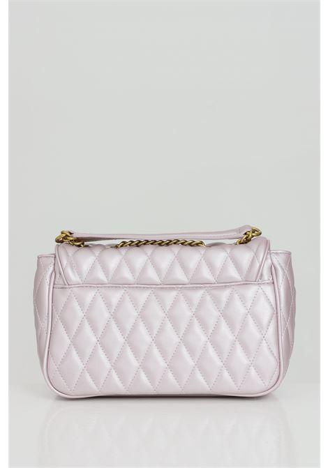 Borsa donna rosa versace jeans couture con tracolla in catena e logo frontale in oro. Chiusura con magnete VERSACE JEANS COUTURE | Borse | E1VWABQ171881426