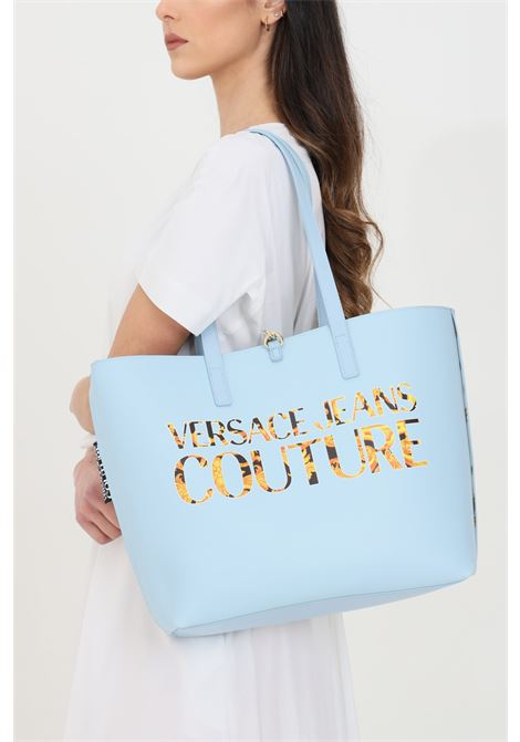Patterned bag in synthetic leather, shopper model. Double face. Versace jeans couture VERSACE JEANS COUTURE | Bag | E1VWABZ171588O33