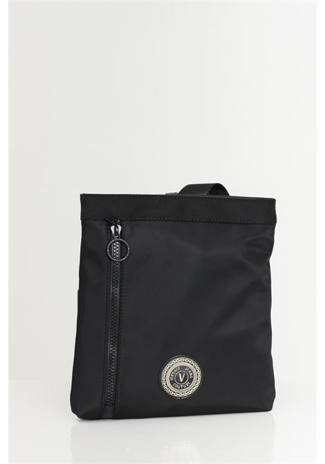 Black bag with shoulder strap and contrasting logo. Versace jeans couture VERSACE JEANS COUTURE | Bag | E1YWAB1471890899