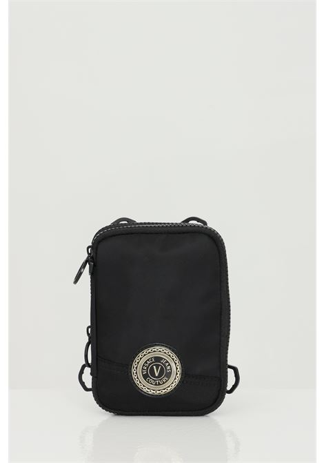 Black bag with shoulder strap and contrasting logo. Versace jeans couture VERSACE JEANS COUTURE | Bag | E1YWAB1671890899