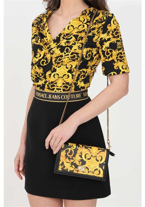 Fantasy bag with chain shoulder strap versace jeans couture VERSACE JEANS COUTURE   Bag   E3VWAPM671880M27