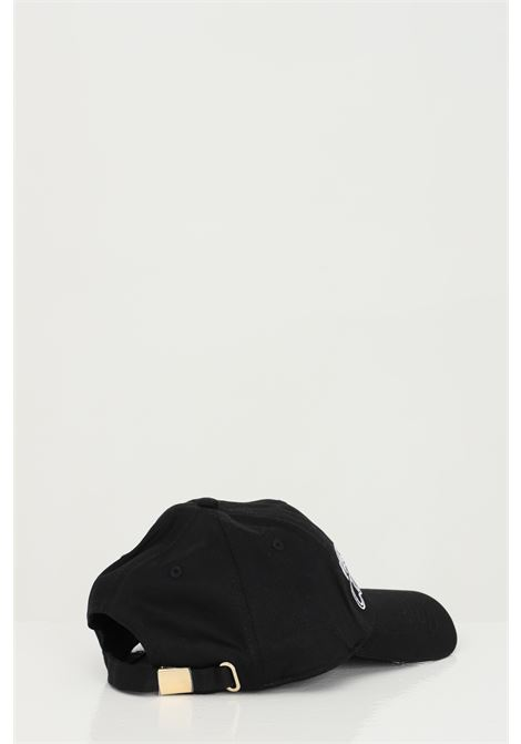 Black cotton cap with front embroidered logo. Versace jeans couture VERSACE JEANS COUTURE | Hat | E8YWAK1185075MI9