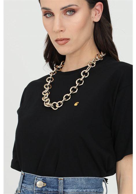Gold necklace with metal rings. Vicolo VICOLO | Bijoux | AH0084ORO