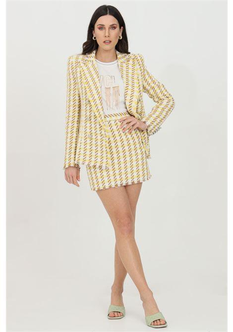 VICOLO | Skirt | TH0596GIALLO-AVORIO
