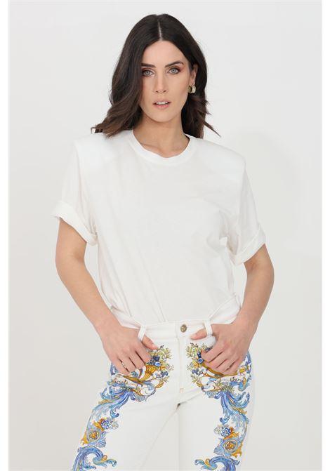 White t-shirt short sleeve vicolo VICOLO | T-shirt | UH0082BIANCO