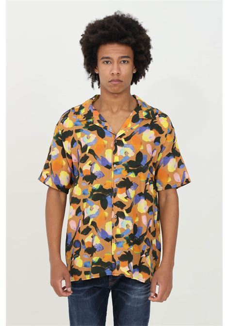 Multicolor shirt with fashion art fantasy. Very soft fit. Yes london YES LONDON | Shirt | XCM7073.
