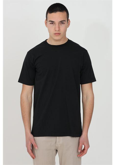 T-shirt uomo nero yes london a manica corta modello basic YES LONDON | T-shirt | XM3880NERO