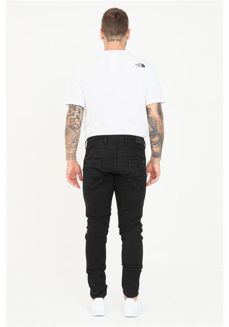 Pantalone uomo nero yes london casual a vita media YES LONDON | Pantaloni | XP3090NERO