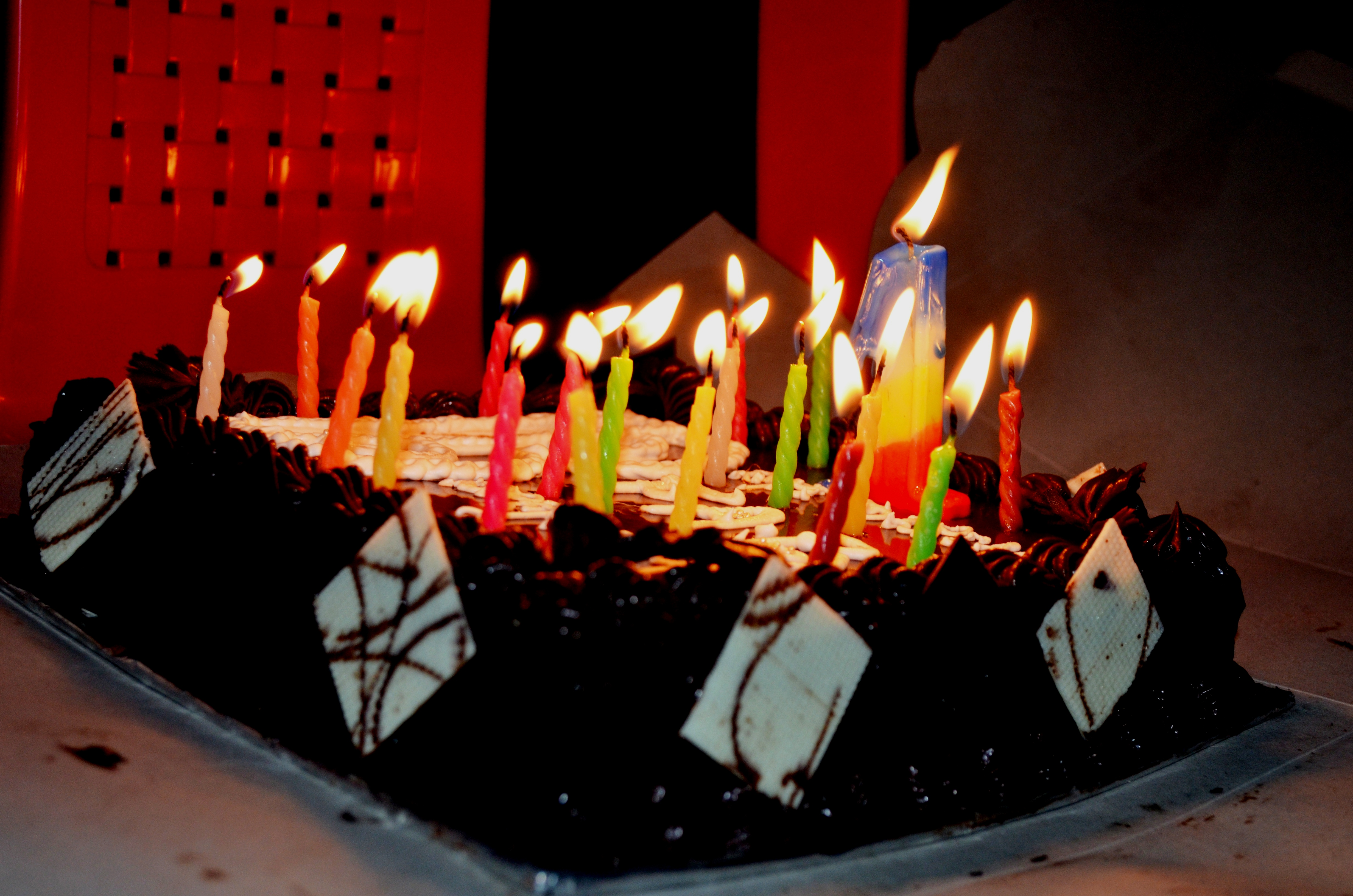 Birthday Cake Candles Public Domain Pictures