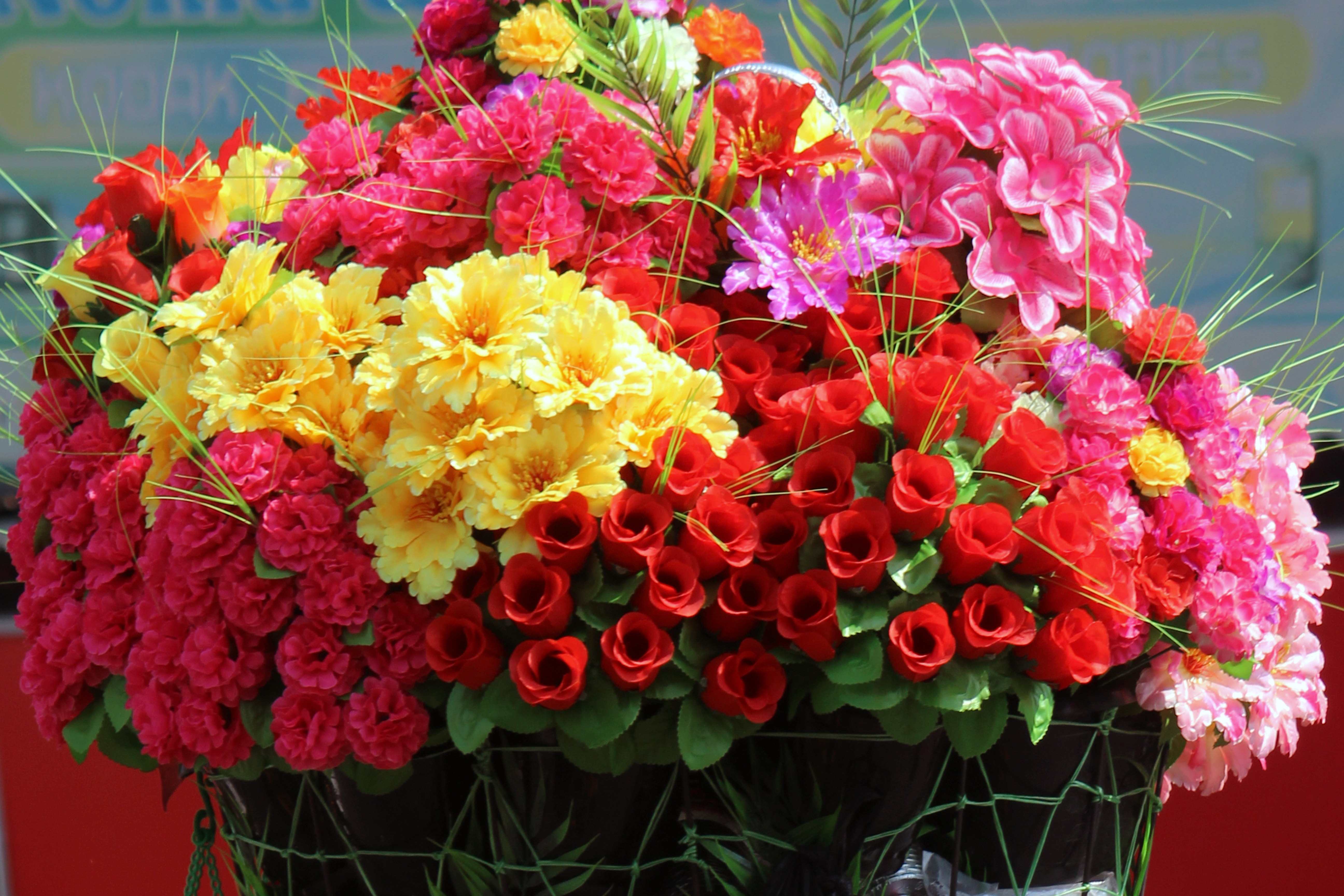 Artificial Flower Bouquet : Public Domain Pictures