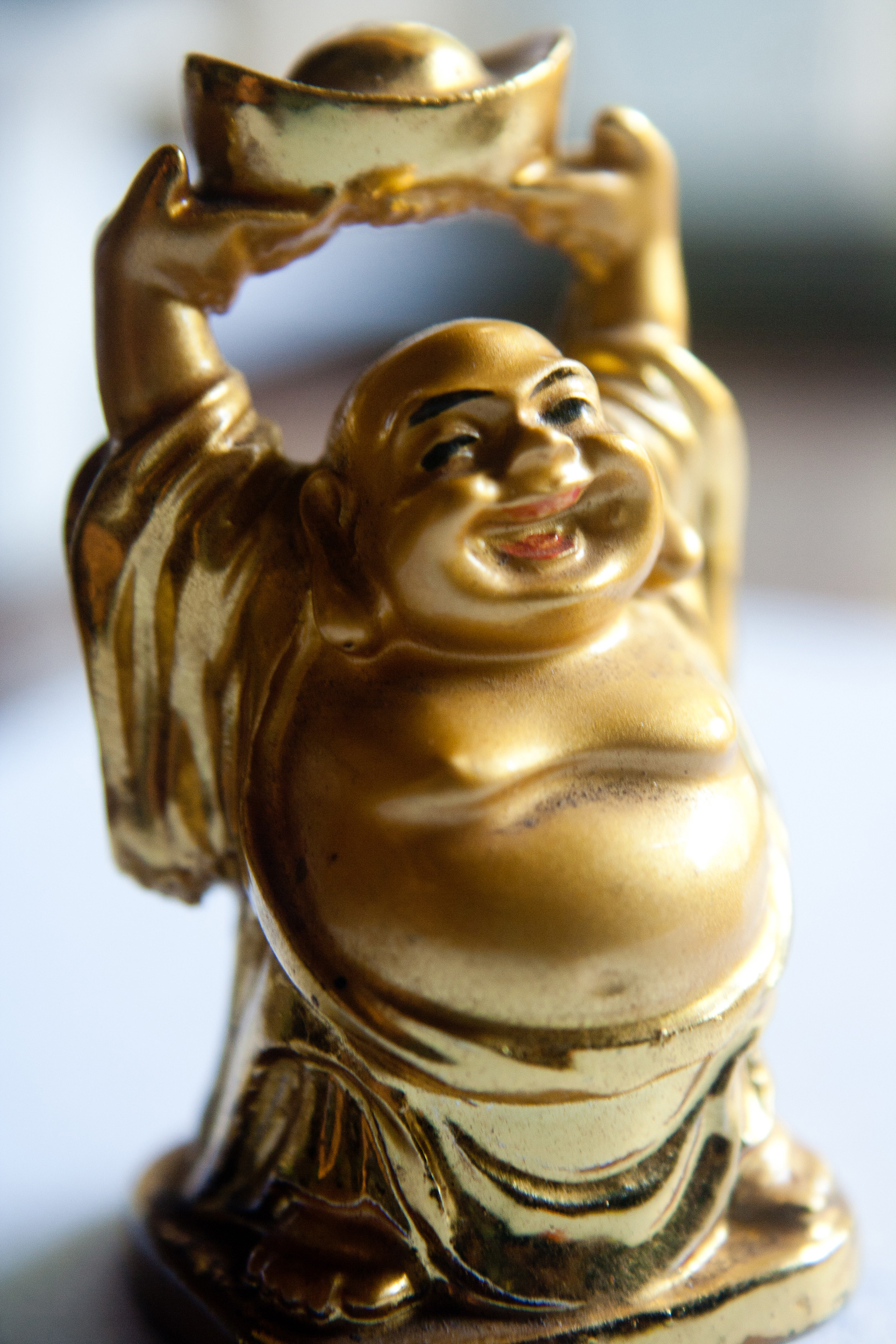 Laughing buddha figure public domain pictures for Figur buddha
