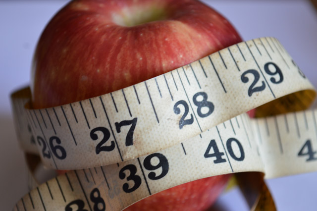 Black Tape Project >> Weight Waist Health Tape Apple : Public Domain Pictures
