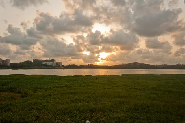 Beautiful landscape lake - Public Domain Picture