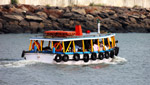 1034-ferry-in-sea - Public Domain Pictures