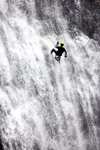 Man Adventure Waterfall Rappelling - Public Domain Pictures