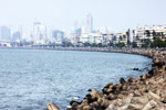 Marine Drive Queens Necklace Mumbai - Public Domain Pictures