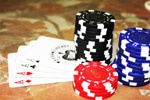 Poker Cards Aces Chips - Public Domain Pictures