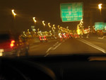 Driving Fast Night - Public Domain Pictures