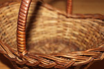 Cane Basket Brown - Public Domain Pictures