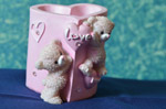 Love Cute Teddy Valentines - Public Domain Pictures