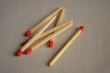 Matchsticks - Public Domain Pictures