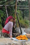 Orange Seller India - Public Domain Pictures