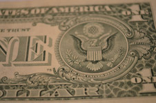 One Dollar Closeup - Public Domain Pictures