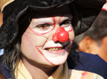 Clown Makeup - Public Domain Pictures