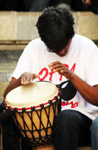 Drummer Playing With Hands - Public Domain Pictures