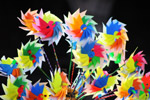 1724-hand-fans-colorful - Public Domain Pictures